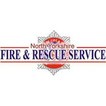 North Yorkshire Fire & Rescue logo, advise bank holiday visitors to be vigilant