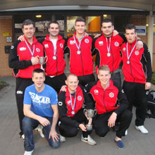 North Yorkshire Fire and Rescue football team celebrate win
