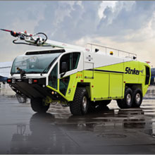 Oshkosh now features the innovative fire suppression technology from SNOZZLE in their product portfolio