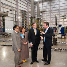 Mr. Cameron participated in a question and answer session with over 300 Prysmian staff