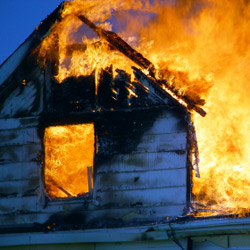 Electrical work in UK homes can critically limit their fire defences