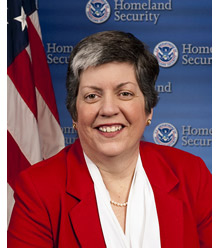 DHS Secretary Janet Napolitano has cited input from firefighters as a factor in the decision to reduce funding for the AFG program