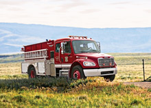 The Contender™ Responder™ offers reliability, durability and value for smaller communities buying a firefighting truck