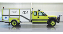 The new Stinger Q4™ Rapid Intervention Vehicle from Oshkosh and Pierce features QuadAgent® and Pulse Delivery® systems for unmatched firefighting performance