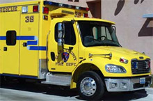 An Ultramedic model from Road Rescue - one of three ranges of ambulances the company has recently updated