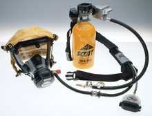 Scott Health & Safety has announced it has been awarded a new contract by the U.S. Navy to supply respirators - such as the Ska-Pak AT, seen here - and accessories over a five year term