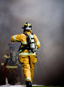 A firefighter heads into the smoke, at what cost? The USFA has completed its review of a study analyzing possible links between firefighting activities and the occurence of cancer