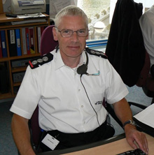 Control Commander Harry Simmons of London Fire Brigade