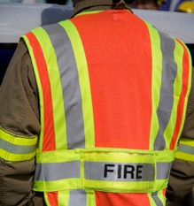 Firefighters are continuing to cool an acetylene cylinder blaze at Park Pale