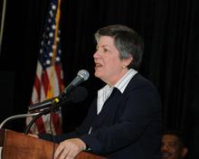 Janet Napolitano, Department of Homeland Security Secretary