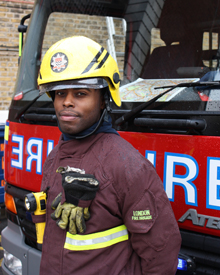 Stephen-remell, aka 'Controversy', is releasing the track to coincide with London Fire Brigade's latest recruitment campaign