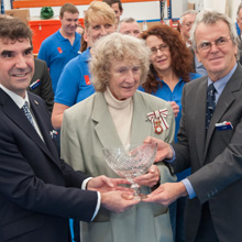 Queen's Award is a very prestigious award with only about 150 being made annually throughout the entire UK