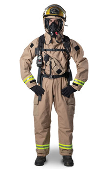 Lion Apparel's Tactix MT94 multi-wear ensemble, chosen by the Northern Ireland Fire and Rescue Service to protect its firefighters during CBRN incidents