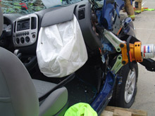 Rescuers must have access to tools, such as cutters, designed to cope with New Car Technology