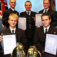 They had finished an intensive recruits course before going onto a development programme