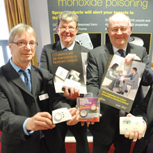 Belfast City Council has been running a successful campaign of seasonal events to raise awareness of carbon monoxide