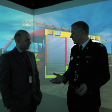 The renewal of partnership will provide delivery, maintenance and support of their 360° RescueSim Mission Rooms to Fire & Rescue Services and Customers within the UK