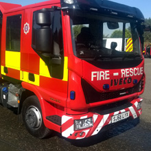 North Yorkshire Fire and Rescue Service Tactical Response Vehicle