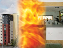 The NHBC has released a research report recommending the use of sprinkler systems in open plan flats
