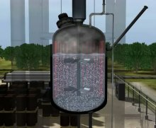 An image taken from the new safety video issued by the U.S. Chemical Safety Board (CSB), which depicts the fatal chemical accident at T2 Laboratories in 2007