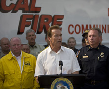 Governor Schwarzeneggar has signed an Executive Order promoting wildfire victim recovery efforts across California, in the wake of the widespread recent fires