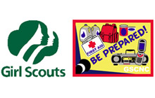 The US Girl Scouts and DHS Citizen Corps have announced a new affiliation promoting shared community preparedness