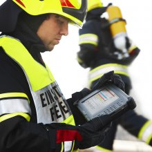 ROSENBAUER's new information system was developed in the course of a research project