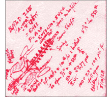 TFT has created a firefighting museum inside the new headquarters, and exhibits include the late Clyde McMillan's revolutionary design for an automatic fire nozzle, done in pen on a cocktail napkin