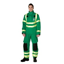 Bristol's fire & rescue services are principally equipped with Ergotech Action2 fire coats and trousers with a PBI Matrix gold outershell