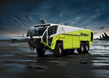 World's premier aircraft rescue fire fighting vehicle