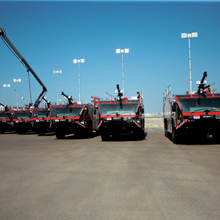 Oshkosh Striker 6 x6 offers advanced safety systems and delivers innovative fire suppression technology
