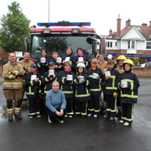 The children thoroughly enjoyed their tour of fire station and seeing how the firefighters tackle fires