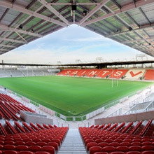 C-TEC fire panels were installed at St Helens Rugby League stadium
