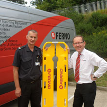 Ferno's Scoop 65 EXL is a new and innovative alternative to the traditional spinal boards and significantly reduces the risk of spinal injuries