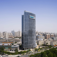 Siemens Bejing Centre is located in Wangjing in the Chaoyang District of Beijing