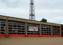 Suffolk fire station is the first to attend any kind of fire emergency.
