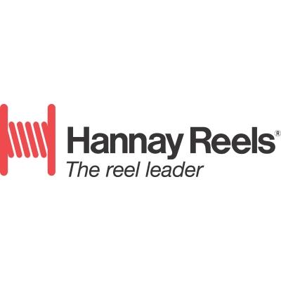 Hannay Reels F - Painted steel booster hose reel is dependable, rugged. Pinion brake standard.