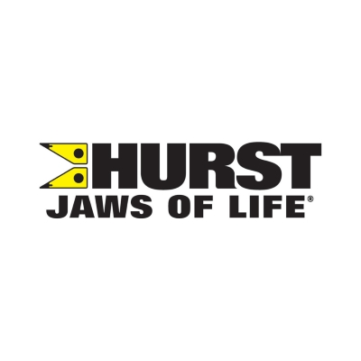 Hurst Jaws of Life R 424 high telescoping rescue ram jacks - two stage ram