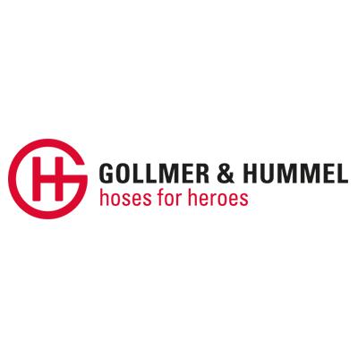 Gollmer & Hummel TITAN 3F - 5 inch diameter uncoated single jacket fire hose