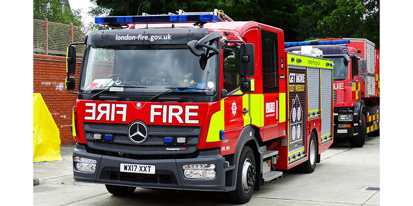 Allison Transmission. London Fire Brigade