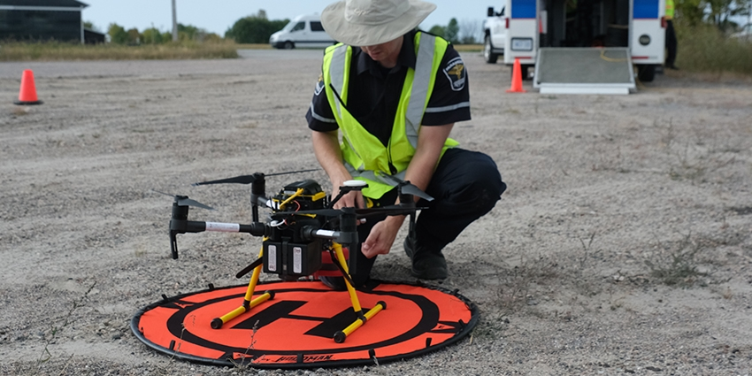 The LTE-connected drones project is among the first to be granted permission for a BVLOS flight, which could expand the reach of emergency services.