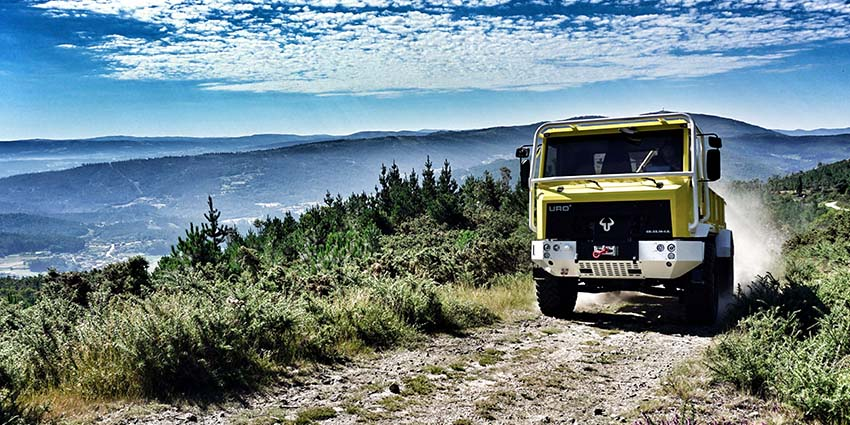UROVESA K6 IS forest firefighting vehicle