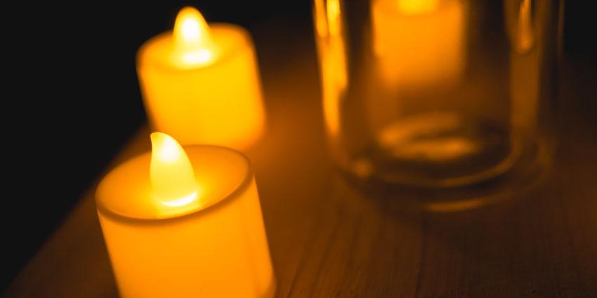 LED Candle holders