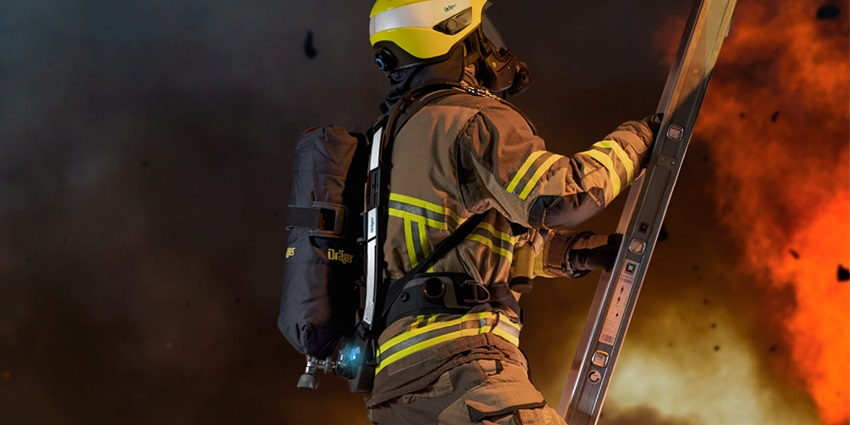 . With AirBoss, the weight is carried by the legs and pelvis rather than the back