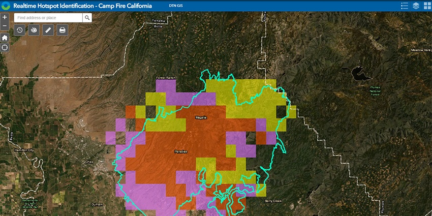 Private company DTN has seen an increased desire for forecasting of 'fire weather' during the horrific wildfire season