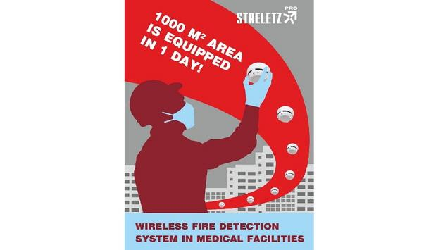 Argus Spectrum Installed Streletz-PRO Advanced Wireless Fire Detection System At 17 New COVID-19 Hospitals