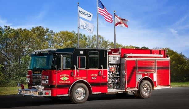 Pierce Delivered 18 Fire And Emergency Apparatus To Lancaster County Fire Rescue Service