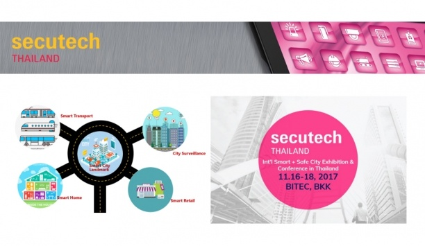 Secutech Thailand 2017 To Focus On Smart And Safe City Discussions In Three-day Fringe Programme