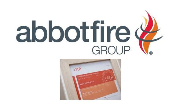Abbot Fire Group Achieves LPS 1531 Appendix 1 Certification From Loss Prevention Certification Board