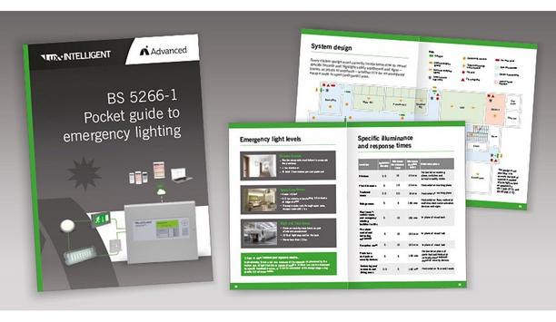 Advanced Publishes Pocket Guide To Emergency Lighting To Make Compliance With BS 5266-1 Quicker And Easier